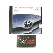 MANUAL CD CARROCERIA J10 ORIGINAL TOYOTA LAND CRUISER