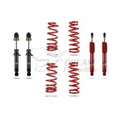 KIT SUSPENSIÓN MITSUBISHI MONTERO V60/V80 LARGO (+40mm) PEDDERS