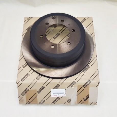 Disco de freno trasero hdj80