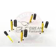 KIT SUSPENSION COMPLETO +4cm KZJ/LJ-7 TERRAIN TAMER