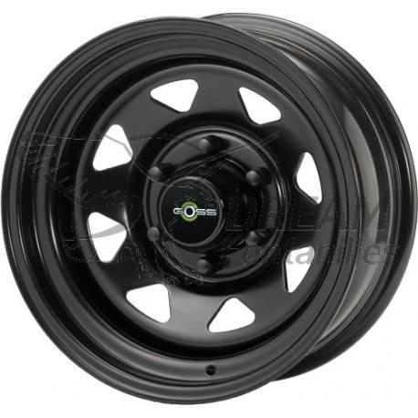 16x7 Negro Modular Acero Rueda 5x130-Mercedes G Wagon