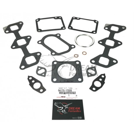 KIT JUNTAS TURBO HDJ-80 24V.
