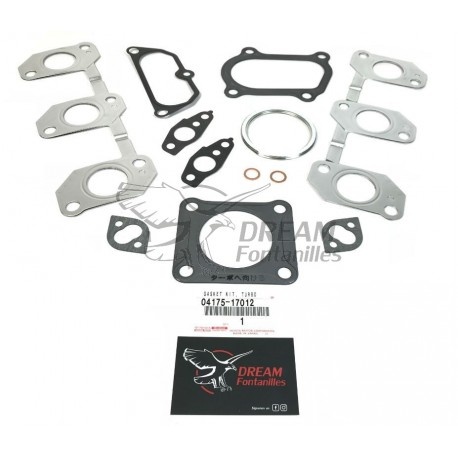 KIT JUNTAS TURBO J8 (12V) ORIGINAL TOYOTA LAND CRUISER - DREAM FONTANILLES