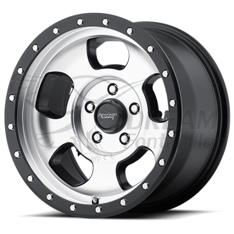 LLANTA AMERICAN RACING AR969 ANSEN OFF ROAD MACHINED 8.5x17/5x127/ET +25