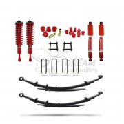 KIT SUSPENSION +40mm +400kg HILUX VIGO (2005-2015) PEDDERS