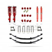 KIT SUSPENSION +40mm +150kg NISSAN NAVARA D40 PEDDERS