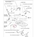 TUBO Nº2 DEPOSITO COMBUSTIBLE ADICIONAL J20 ORIGINAL TOYOTA LAND CRUISER