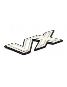 """EMBLEMA PORTON TRASERO J8 """" VX """" ORIGINAL TOYOTA LAND CRUISER"""