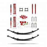 KIT SUSPENSION ESTANDAR +200kg HILUX VIGO (2005-2015) PEDDERS