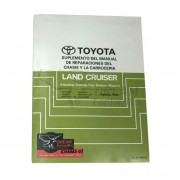 MANUAL CARROCERIA Y CHASIS J7 / J8 (SUPLEMENTO) ORIGINAL TOYOTA LAND CRUISER
