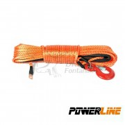 CABLE SINTETICO 8mmx28m 6800kg COLOR NARANJA POWERLINE