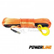 CABLE SINTETICO 9mmx28m 8500kg COLOR NARANJA POWERLINE
