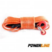 CABLE SINTETICO 12mmx28m 13500kg COLOR NARANJA POWERLINE