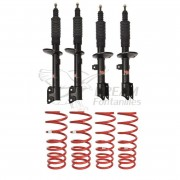 KIT SUSPENSION +40mm DACIA DUSTER PEDDERS