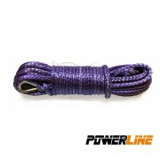 CABLE SINTETICO 12mmx28m 13500kg TECHNORA COLOR NEGRO POWERLINE