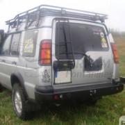 PARACHOQUES TRASERO ACERO REFORZADO LAND ROVER DISCOVERY II