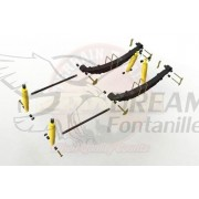 KIT SUSPENSION COMPLETO +40mm MITSUBISHI MONTERO NF/NG TERRAIN TAMER