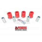 KIT SILENTBLOCK TRAPECIOS DELANTEROS SUPERIORES J12/HILUX PEDDERS