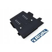 PROTECCIÓN CAJA CAMBIOS + CAJA TRANSFER 3MM ACERO VW AMAROK RIVAL