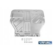 PROTECCIÓN MOTOR + CAJA CAMBIOS 4mm VW T5 / T6 RIVAL