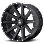 LLANTA KMC XD818 SATIN BLACK 8X17 5X110 CB65.1/ET +35 KMC