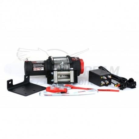 CABRESTANTE ATV 3.5K (1.587KG) CABLE PLASMA POWERWINCH