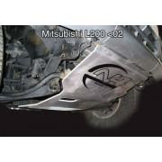 PROTECCION DELANTERA MITSUBISHI L200 (1997-2006) N4-OFFROAD